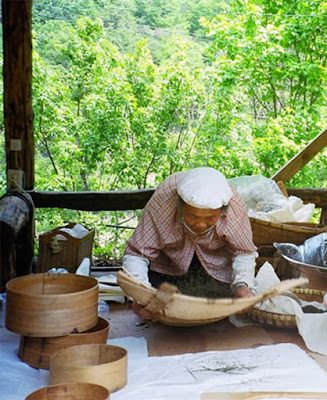 Lim Jeong Jin Winnowing the Tea Leaves (BA)