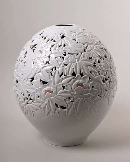 Double Walled Vase Jeon Seong Keun