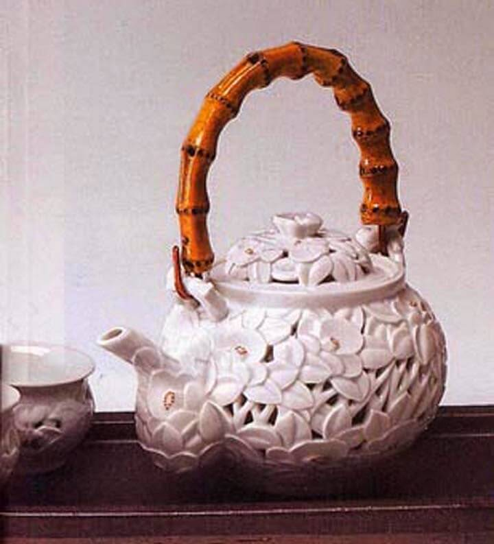 Double Walled Teapot Jeon Seong Keun