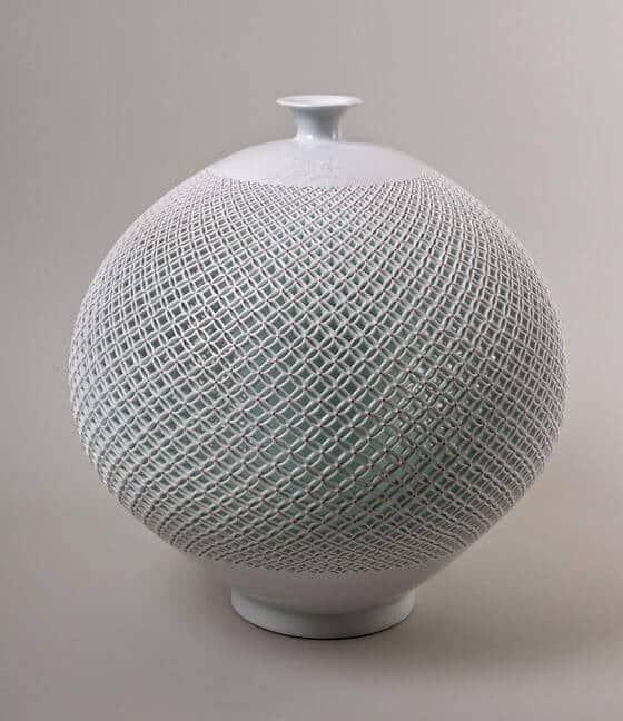Open Work Vase