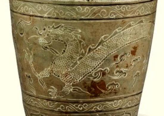 Famous 15th century jar, detail